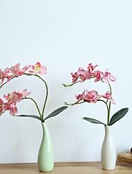 Недорогие -Искусственные Цветы 1 Филиал Классический Традиционный / классический европейский Фиолетовый Вечные цветы Букеты на стол