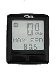 Недорогие -SunDing SD-515 Датчик модуляций скорости Водонепроницаемость Компактность Велоспорт Велосипеды для активного отдыха Односкоростной велосипед Велоспорт