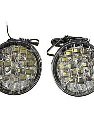 Недорогие -2pcs Проводное подключение Автомобиль Лампы 18 W 18 Светодиодная лампа Противотуманные фары / Фары дневного света Назначение Универсальный / Volkswagen / Toyota Все года