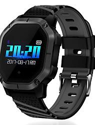 Недорогие -K5 Мужчины Смарт Часы Android iOS Bluetooth Smart Спорт Водонепроницаемый Пульсомер Измерение кровяного давления ЭКГ + PPG Секундомер Педометр Напоминание о звонке Датчик для отслеживания активности
