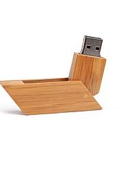 Недорогие -128GB флешка диск USB USB 2.0 деревянный Необычные Беспроводной диск памяти