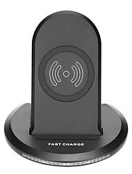 Недорогие -U8 беспроводное автомобильное зарядное устройство ци стандартная быстрая зарядка телефона док-станция для iphone x 8 / 8plus samsung s8 s7