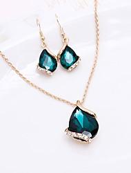 hesapli -Kadın's Temel Mücevher Setleri Solid