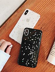 Недорогие -чехол для яблока iphone xr / iphone xs макс блестящий блеск / узор задняя крышка сердце мягкое тпу для iphone x / xs / 6/6 plus / 6s / 6s plus / 7/7 plus / 8/8 plus
