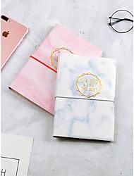 Недорогие -Пластик Розовый / Светло-синий Блокноты 18.3*12.5*1.5 cm