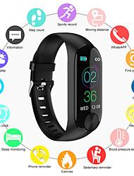 Недорогие -Indear Y10 Женский Умный браслет Android iOS Bluetooth Smart Спорт Водонепроницаемый Пульсомер Измерение кровяного давления / Датчик для отслеживания активности / Датчик для отслеживания сна