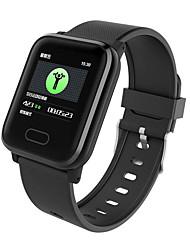 Недорогие -DS120 Мужчины Смарт Часы Android iOS Bluetooth Водонепроницаемый Сенсорный экран Пульсомер Измерение кровяного давления Спорт ЭКГ + PPG