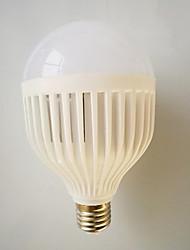 hesapli -7 W LED Küre Ampuller 410-510 lm E26 / E27 18 LED Boncuklar SMD 5730 Acil Serin Beyaz 220-240 V, 1pc
