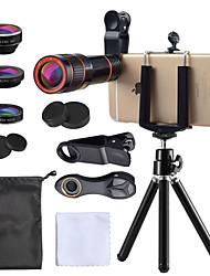 Недорогие -Объектив для мобильного телефона Объектив фиш-ай / Длиннофокусный объектив / Широкоугольный объектив стекло / пластик 10Х и более 35 mm 15 m 198 ° Линза / объектив со стендом