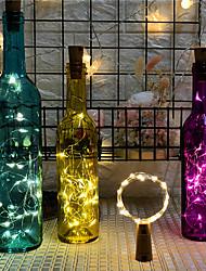 رخيصةأون -2M أضواء سلسلة 20 المصابيح أبيض دافئ / RGB / أبيض إبداعي / حزب / ديكور بطاريات تعمل بالطاقة 1PC
