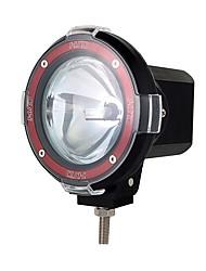 Недорогие -55 Вт 7 дюймов бездорожья 6000k 55 Вт прожектор ксеноновая лампа супер яркий внедорожник прожектор вспомогательная лампа крыши