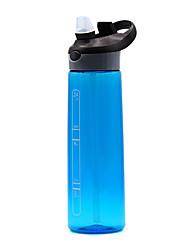 Недорогие -чайник Бутылки для воды Бутылка для воды 700 ml PP Прочный для Отдых и Туризм Велосипедный спорт / Велоспорт Путешествия Черный Фиолетовый Пурпурный Синий