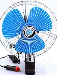 Недорогие -портативный автомобильный вентилятор большое количество ветра малошумный вентилятор 5 ГГц прикуриватель 12 В