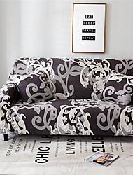 abordables -Housse de canapé Romantique Teinture Mélange de Polyester & Coton Literie