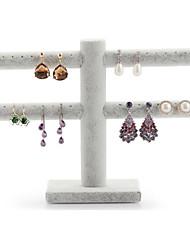 billiga -skrivbordshållare kort stil dubbla lager solid smycken arrangör
