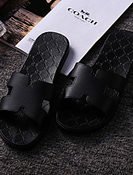 abordables -Pantoufles pour Homme / Pantoufles pour Garçons Maison chaussons Simple PVC Imprimé animal Chaussures