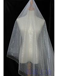 baratos -Tule Cor Única Inelástico 140-150 cm largura tecido para Casamento vendido pelo 0,45 m