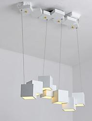 Недорогие -QIHengZhaoMing 7-Light Люстры и лампы Рассеянное освещение Окрашенные отделки Акрил 110-120Вольт / 220-240Вольт