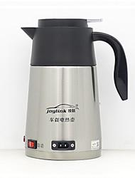 Недорогие -Электрический чайник с двойными стенками из нержавеющей стали на 1,2 л, с одной кнопкой / нескользящей ручкой / с автоматическим выключением