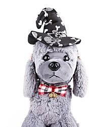 Χαμηλού Κόστους -Σκυλιά Στολίδια Αξεσουάρ μαλλιών Σκύλοι & Γάτες Διακοσμητικό Στολές Ηρώων Μονόχρωμο Χαρακτήρας Χριστούγεννα Άλλο Υλικό Μαύρο Κίτρινο Πράσινο