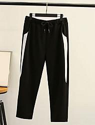 povoljno -Muškarci Sportski Sportske hlače Hlače - Print Crn XXXL XXXXL XXXXXL