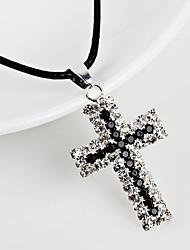 preiswerte -Damen Geometrisch Halskette Modisch Cool Schwarz 30 cm Modische Halsketten Schmuck 1pc Für Alltag