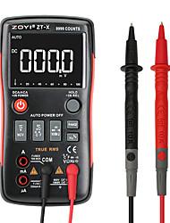 halpa -zoyi zt-x true-rms autoalueen digitaalinen yleismittari ac / dc voltmetri-ampeerimittari 9999 laskee ncv: n pitämällä lcd-taustavalon näyttöä kuten rm409b