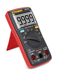 billige -digital multimeter palm størrelse true-rms 9999 teller firkant bølge bakgrunnsbelysning AC dc spenning ammeter strøm ohm auto / manuell zt109