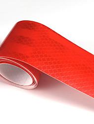 Недорогие -красный флуоресцентный светоотражающая наклейка 5см х 5метровый автомобиль грузовик мотоцикл видимость ленты автомобильная светящаяся полоса