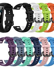 رخيصةأون -حزام إلى Huawei Honor Band 4 Huawei عصابة الرياضة سيليكون شريط المعصم