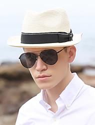 Χαμηλού Κόστους -Άχυρο Ψάθινα καπέλα με Μονόχρωμο 1 τμχ Πάρτι / Βράδυ / Κεντάκι Ντέρμπι Headpiece