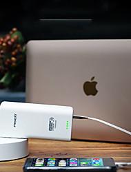 Недорогие -PISEN 10000 mAh Назначение Внешняя батарея Power Bank 5 V Назначение 1 A / 2 A Назначение Зарядное устройство с адаптером LED