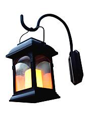 preiswerte -1pc 0.2 W Wandleuchten im Freien / LED-Straßenleuchte Solar Gelb 1.2 V Außenbeleuchtung / Hof / Garten LED-Perlen