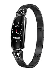 Недорогие -ak16 Женский Умный браслет Android iOS Bluetooth Водонепроницаемый Сенсорный экран Пульсомер Измерение кровяного давления Спорт
