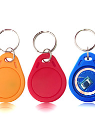 Недорогие -5YOA 100KeyUID RFID Keyfobs Дома / квартира / Для школы