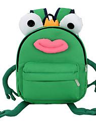 お買い得  -男の子 / 女の子 バッグ ポリエステル キッズバッグ ジッパー グリーン