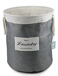 Недорогие -большая складная корзина для хранения хлопка и белья с хлопковой веревкой легкая корзина для белья
