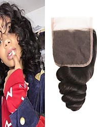 halpa -1 paketti Brasilialainen Löysät aaltoilevat 100% Remy Hair Weave -paketit Hiukset kutoo Aitohiuspidennykset 8-20inch Luonnollinen väri Hiukset kutoo Vastasyntynyt Vesiputous Cute Hiukset Extensions