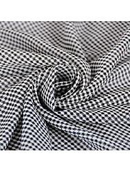 baratos -Chifon Geométrica Estampada 115 cm largura tecido para Vestuário e Moda vendido pelo 0,1 m