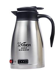 Недорогие -автомобильный электрический чайник из нержавеющей стали 1,3 л портативный малошумный подогрев 12/24 В
