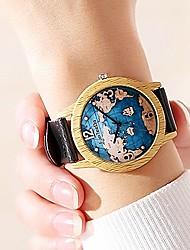 Недорогие -Муж. Спортивные часы Кварцевый Стеганная ПУ кожа Черный / Коричневый / Шоколадный Нет Повседневные часы Cool Аналоговый На каждый день Мода - Черный Кофейный Коричневый Один год Срок службы батареи
