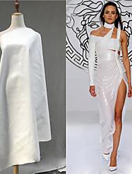 baratos -pele de couro Cor Única Elástico 138 cm largura tecido para Vestuário e Moda vendido pelo 0,45 m