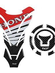 Недорогие -5d углеродного волокна мотоцикла топливного бака колодки крышка наклейки газа крышка стикер для honda cb650f cbr650f vfr800x cbr500r cb500x cb500f mn4