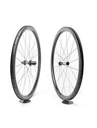 Недорогие -FARSPORTS 700CC Колесные пары Велоспорт 28 mm Шоссейный велосипед Углеродное волокно Клинчерная покрышка 20/24 Спицы 38 mm