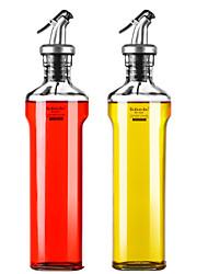 Χαμηλού Κόστους -Re · Cook Glass Ντισπένσερ Λαδιού Απλός Φιλικό προς το περιβάλλον Εργαλεία κουζίνας Για μαγειρικά σκεύη 2pcs