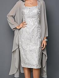 hesapli -Kadın's Set Solid Elbiseler