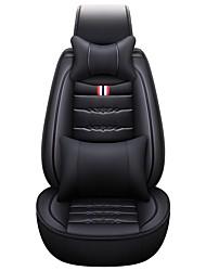 Недорогие -бизнес передние задние универсальные автомобильные чехлы на сиденья и подголовники комплекты подушек класса люкс аксессуары для автомобилей универсальные / губки / полиэстер / нетканые