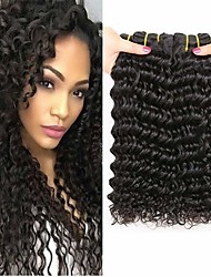 저렴한 -3 개 묶음 몽골인 딥 웨이브 100 % 레미 헤어 위브 번들 인간의 머리 직조 인모 연장 위브 8-28 inch 자연 색상 인간의 머리 되죠 클래식 최고의 품질 뜨거운 판매 인간의 머리카락 확장 여성용