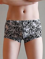 voordelige -heren boxers ondergoed 1 stuk midden taille