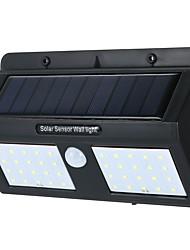 billige -1pc 6 W Solar Wall Light Solar / Infrarød sensor Kold hvid 3.7 V Udendørsbelysning / Gårdsplads / Have 40 LED Perler